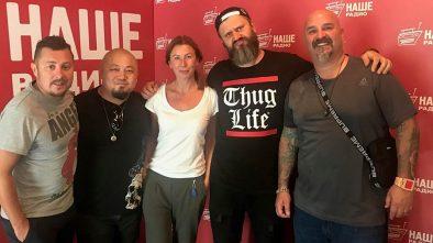 Ведущие утреннего шоу «Подъёмники» пообщались с всемирно известными тату-мастерами из Америки
