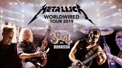 Metallica. БСА Лужники. 21 июля 2019